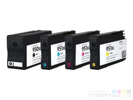 HP - Náplne HP 950XL - 951XL CMYK - Multipack 4 renovovaných náplní