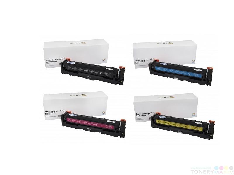Canon - Tonery Canon CRG-054H Multipack CMYK - štvorbalenie alternatívnych tonerov
