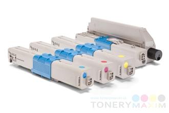 OKI - Tonery OKI C301 / 321 / MC332 Multipack CMYK - štvorbalenie alternatívnych tonerov