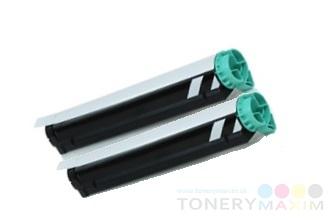 OKI - Tonery OKI 43979102 - dvojbalenie alternatívnych tonerov pre OKI B410/420/430/440/MB460/470/480