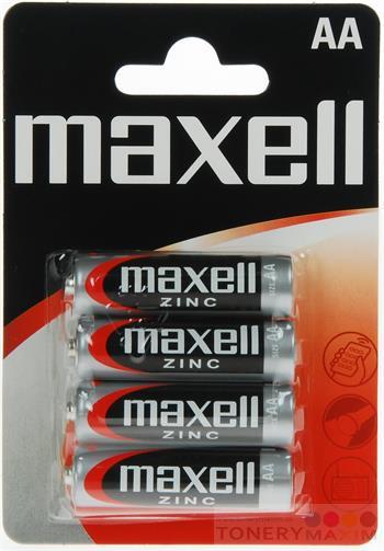 Ostatné - Batérie Maxell Zinc AA 4ks Blister
