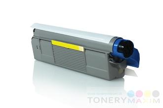 OKI - Toner OKI 44315305 Yellow - alternatívny toner pre OKI C610