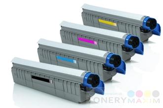OKI - Tonery OKI C801 / 821 Multipack CMYK - štvorbalenie renovovaných tonerov