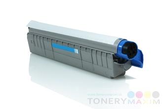OKI - Toner OKI 44643003 Cyan - renovovaný toner pre OKI C801/821