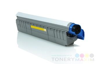 OKI - Toner OKI 44643001 Yellow - renovovaný toner pre OKI C801/821