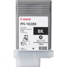 CANON Originál PFI-102BK black iPF 500/510/600/605/610/650/655/700/710/720/750/755/760/765