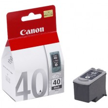CANON Originál PG-40 black MP 150/160/170/180/450/460, iP 2200, MX300