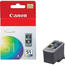 CANON Originál CL-51 color MP 150/160/170/180/450/460, iP 2200, MX300