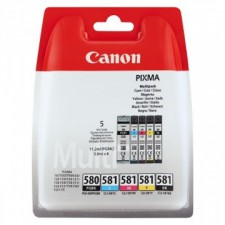 Náplne CANON PGI-580PGBK + CLI-581 BK/C/M/Y PACK - originál