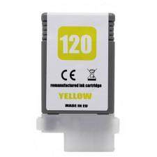 Náplň Canon PFI-120Y  Yellow - renovovaná náplň