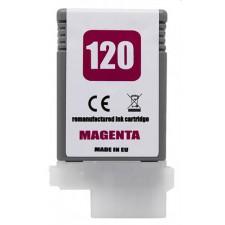Náplň Canon PFI-120M Magenta - renovovaná náplň