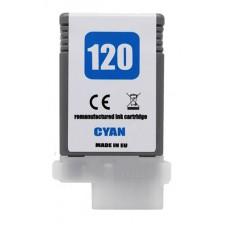 Náplň Canon PFI-120C Cyan - renovovaná náplň