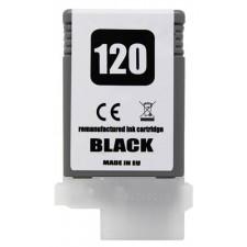 Náplň Canon PFI-120Bk Black - renovovaná náplň
