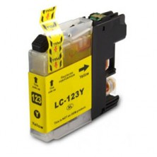 Náplň Brother LC-123 XL Yellow - alternatívna atramentová náplň