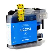 Náplň Brother LC-223 XL Cyan - alternatívna atramentová náplň