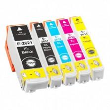 Náplne Epson T2636 (26XL) - Multipack 5 alternatívnych atramentových náplní