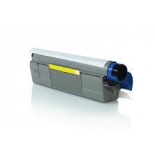 Toner OKI 43324421 Yellow - renovovaný toner pre OKI C5500/5800/5900