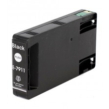 Náplň Epson T7911 ( C13T79114010 / 79L ) Black - alternatívna atramentová náplň