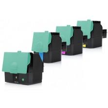 Tonery Lexmark X544 Multipack CMYK - štvorbalenie renovovaných tonerov